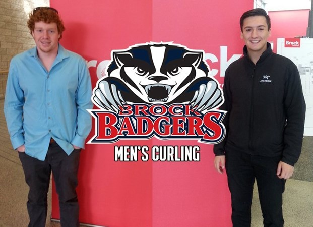 Brock Men's Curling recruits bring experience to the program