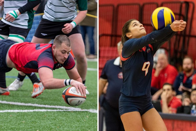 Armstrong, Zorbas named Athletes of the Week