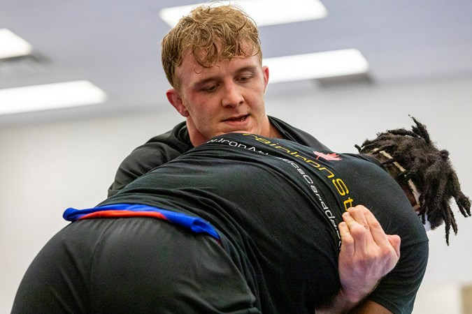Canadian Wrestling Trials: Brock men ready to hit the mat