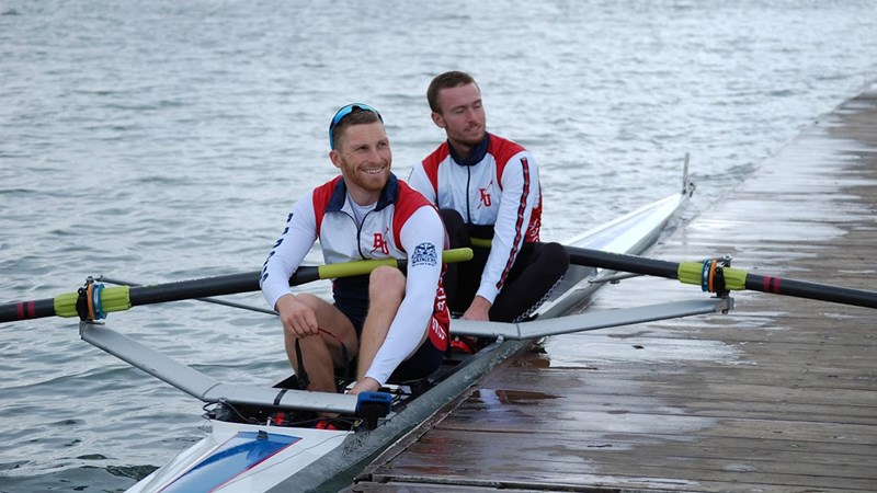 Master's degree already paying dividends for Brock rower - Brock University Athletics