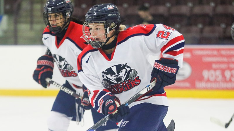 Medical Sciences student-athlete excelling on ice and in class - Brock University Athletics